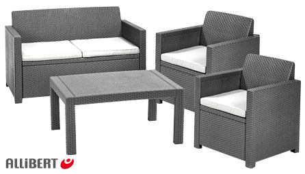Luxus Lounge Set Allibert